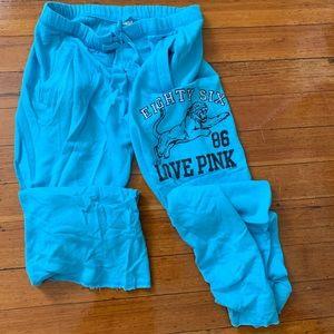 Victoria Secret blue sweatpants